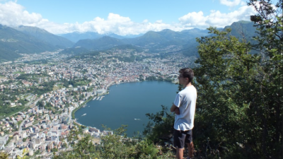 A gorgeous hike where you ascend to get great views over Lugano and the surrounding...