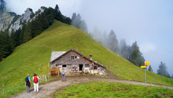 Höhenwanderung von Rigi-Kaltbad zum Urmiberg