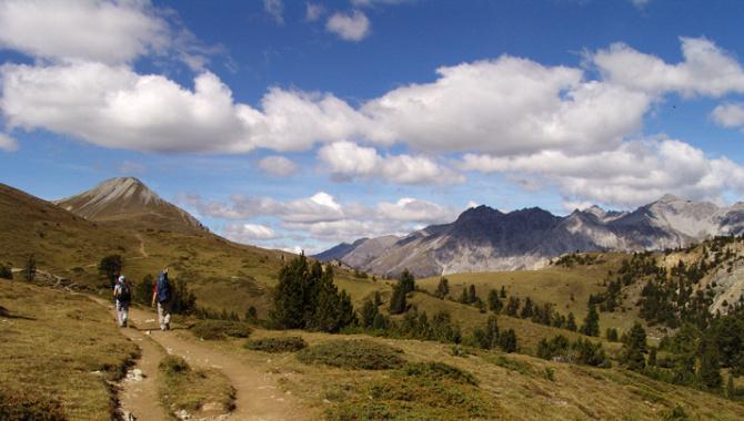 Bergwanderung im Schweizerischen Nationalpark