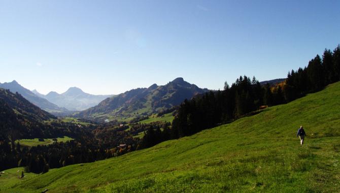Wanderung vom Schwarzsee über La Balisa nach Charmey