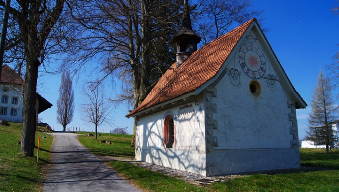 Kapelle bei Tafers.