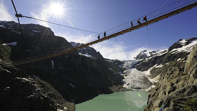Bergwanderung zur Triftbrücke