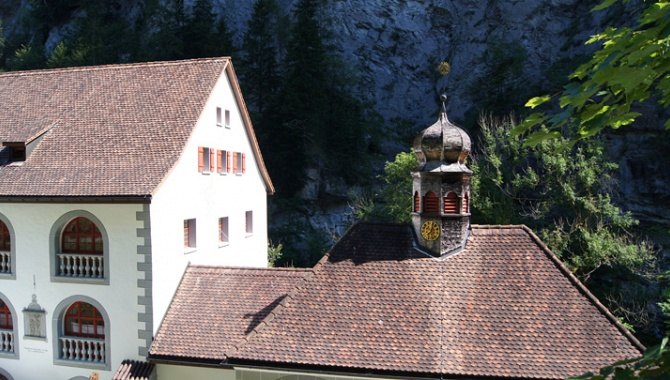 Chapelle près Bad Pfäfers.