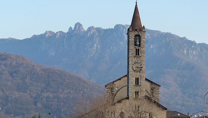 Church at Tesserete with