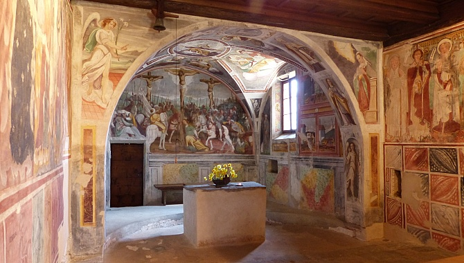 Frescoes in the San Bernardo Church