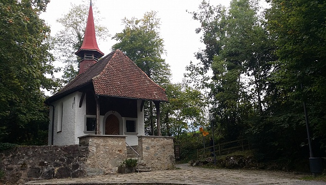 William Tell Chapel built mid 1500's (Hohle Gasse Alley)