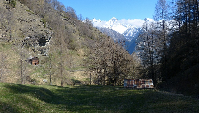 The Haltsuon trail from Unterbäch to Eischoll