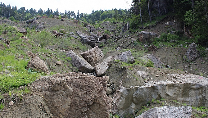 Evidence of the massive Rossberg Slide of 1806