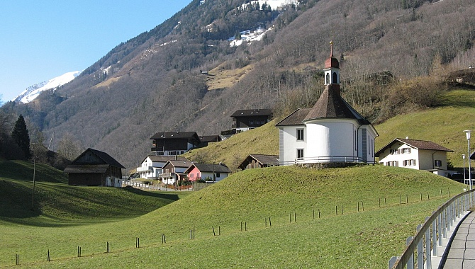 The Chapel at the Hamlet of Bürglen