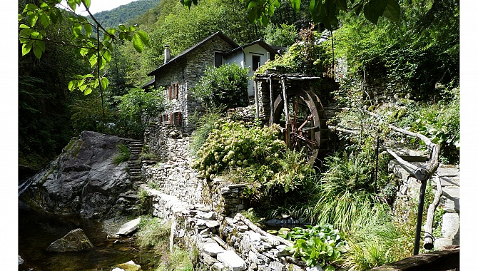 The Old Mill near Pila.
