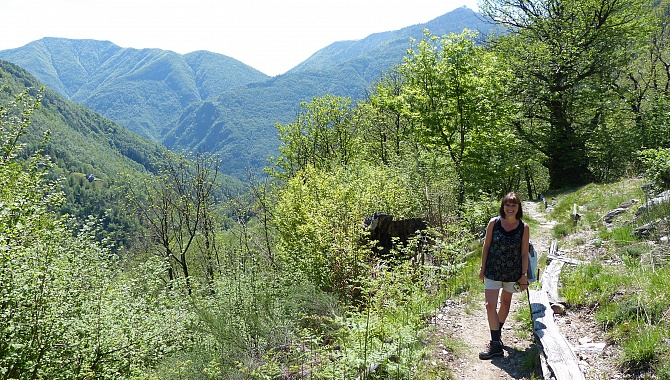 Heading back out to the Maggia Valley.