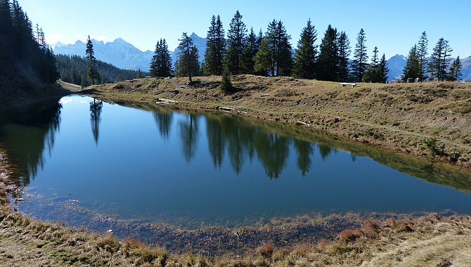 Little Fleschseeli Lake