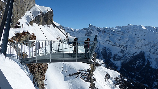 Viewing Platform at Gemmi Pass