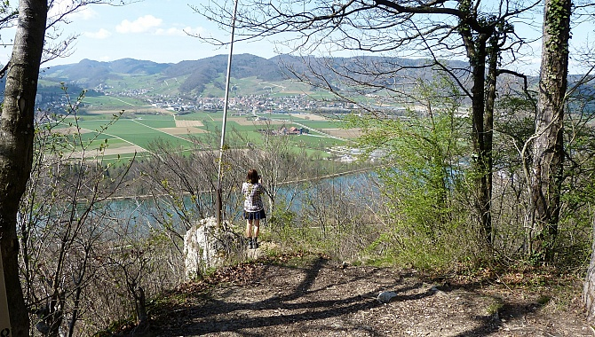 Look-out point above Schinznach Bad
