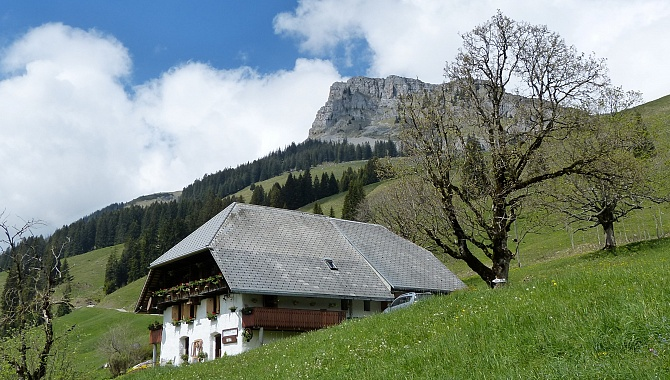 Schneeberg Farm with self-service shop (Hofladen)