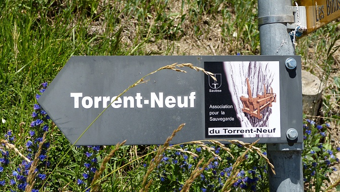 Association for the Restoration of the Bisse du Torrent Neuf