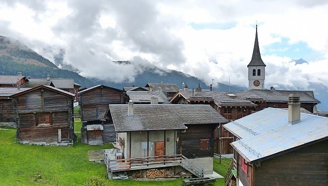Village of Bellwald, worth taking a look at.