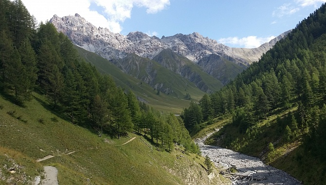 Trupchun Valley in the Swiss National Park