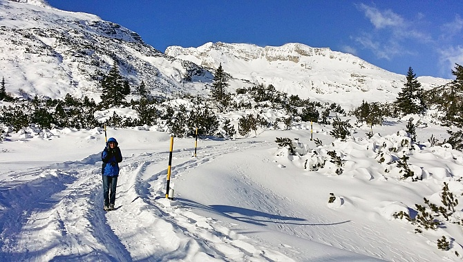 Winter Trail to Pont Nef