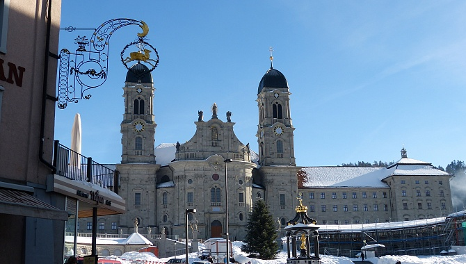 Einsiedeln Abbey: The largest baroque monastery in Switzerland
