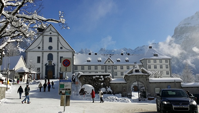 The Engelberg Abbey