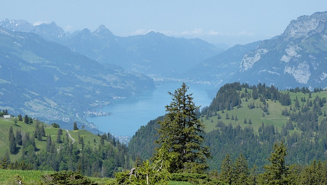 View to Lake Walensee