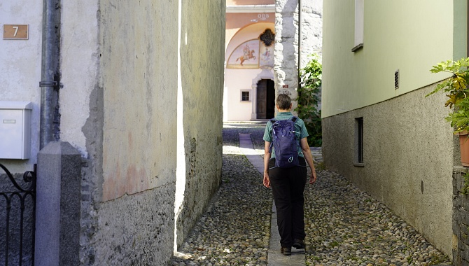 Gasse in Maggia