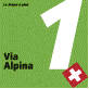 Markierung Via Alpina (Route 1)