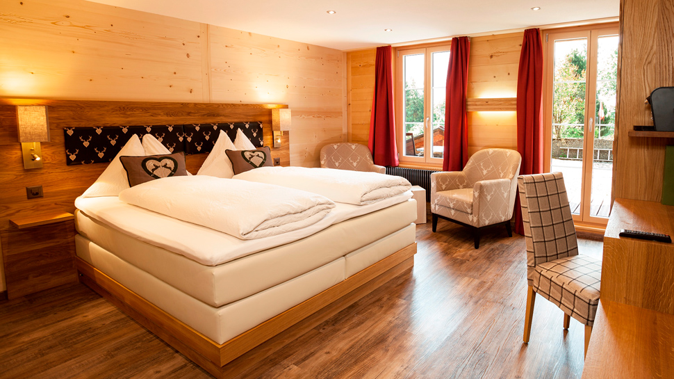 Hotel Waldrand *** in Lenk i.S. - Suite