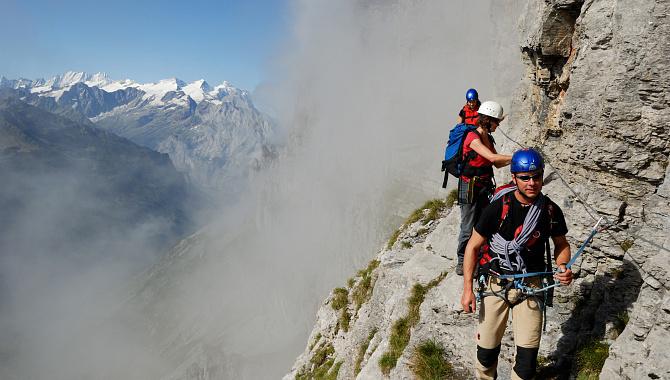 Klettersteig Bern : Klettersteige der besondere kick in den bergen wanderungen