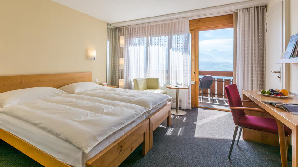 Solbadhotel Sigriswil **** - Doppelzimmer mit Seeblick